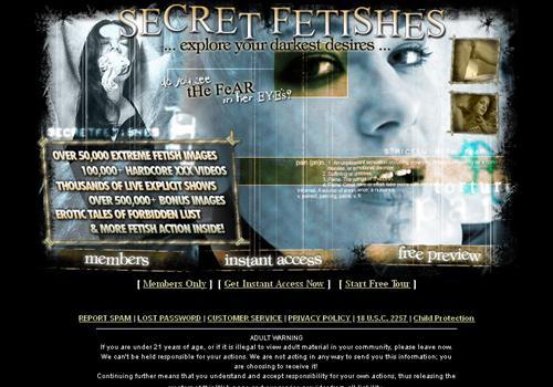 secret sex site