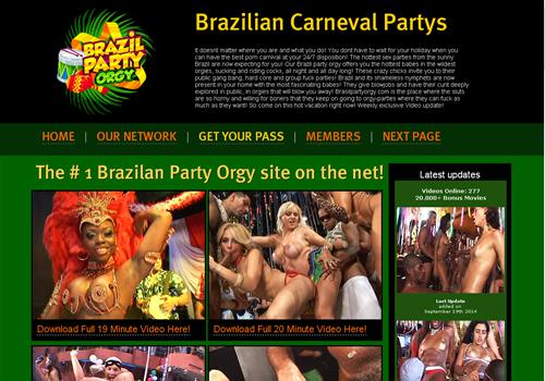 Brazilian Orgy Party