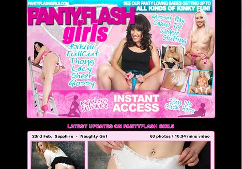 Panty Flash Girls