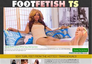 Foot Fetish TS