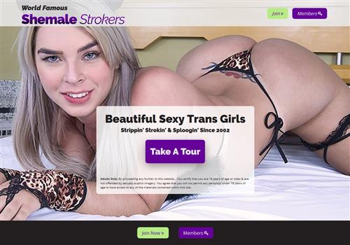 Clip shemale strokers