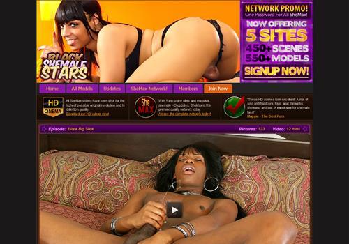 Black Shemale Porn Sites