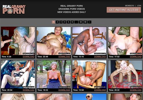 Paid granny porn sites