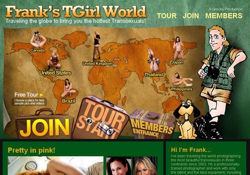 Franks Tgirl World
