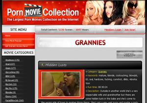 Grannies Porn Movie Collection