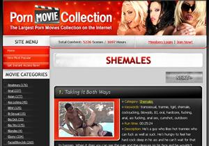 Shemales Porn Movie Collection
