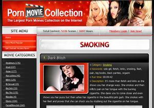 Smoking Porn Movie Collection