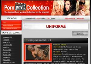 Uniforms Porn Movie Collection