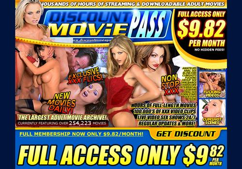 Buy membership to porn site Discount Movie Pass - Pay only $9.82 per month