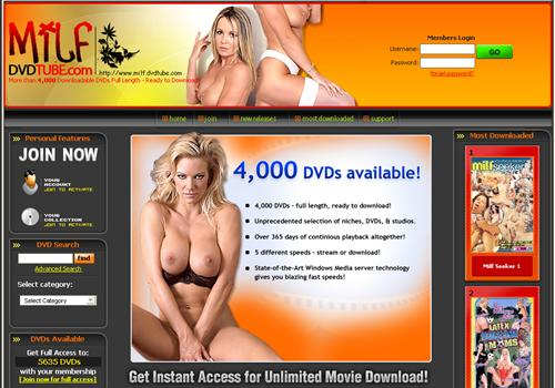 Buy membership to porn site MILF DVD Tube - Adult Video Download Paysite