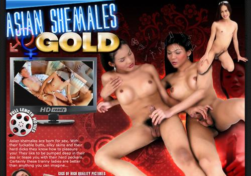 Asian Shemales Gold