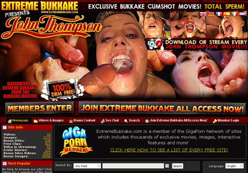 Extreme video bukkake reserve
