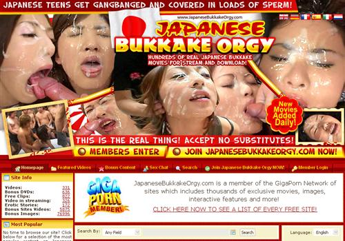 Japanese Pay Site - Japanese Bukkake Orgy | Membership Porn Sites ...
