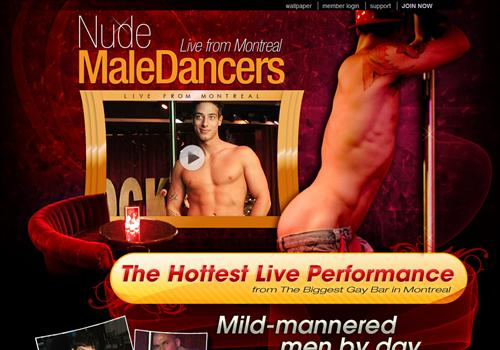 The best Nude Male Dancers and gay strippers from Montreal.