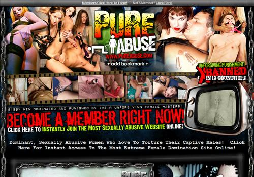 The most extreme female domination paysite online! Buy membership to porn ...