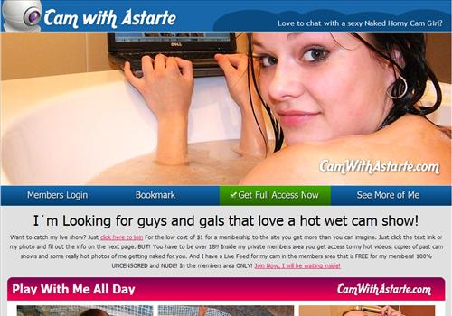 Buy membership to porn site Cam with Astarte - Live nude shows and hot sex ...