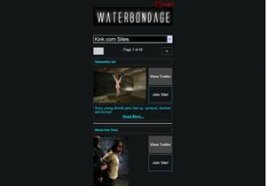 Water Bondage Mobile Porn