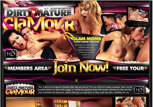 Buy membership to porn site Dirty Mature Glamour - Cougar Milfs fucked