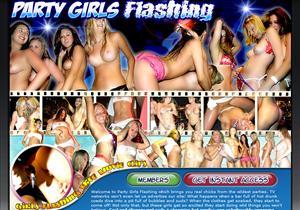 Party Girls Flashing