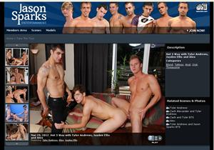 Club Jason Sparks - This gay porn network pay site offers original horny ...