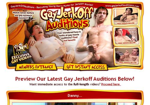 Buy membership to porn site Gay Jerkoff Movies - Gay reality porn paysite