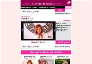 Mobile Euro Teen Erotica