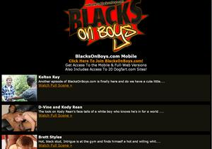 Blacks On Boys Mobile